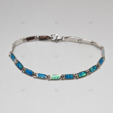 NM LOB002 silber Armband mit Opale