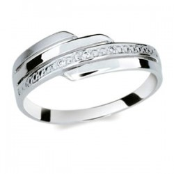DANFIL DF1844 prsteň s briliantmi
