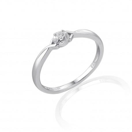GEMS 386-2091 prsten s briliantem