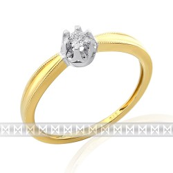 GEMS 381-2075 Ring mit Brillant