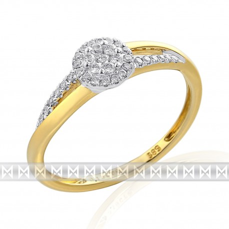 GEMS 381-2330 Ring mit Brillanten