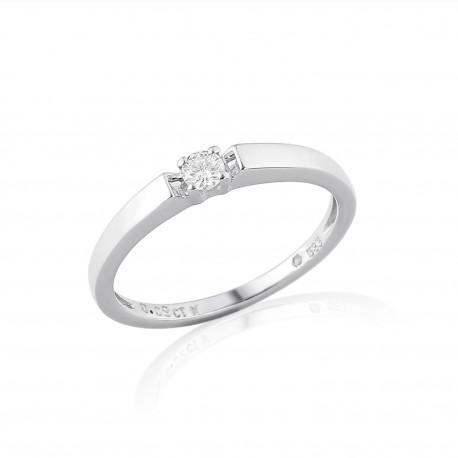 GEMS 386-0085 prsteň s briliantom