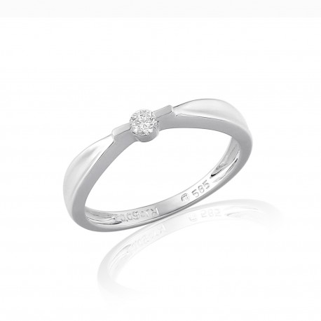 GEMS 386-0028 Ring mit Brillant