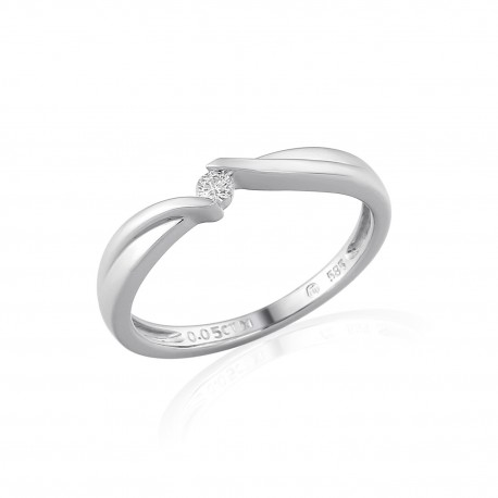 GEMS 386-0010 Ring mit Brillant