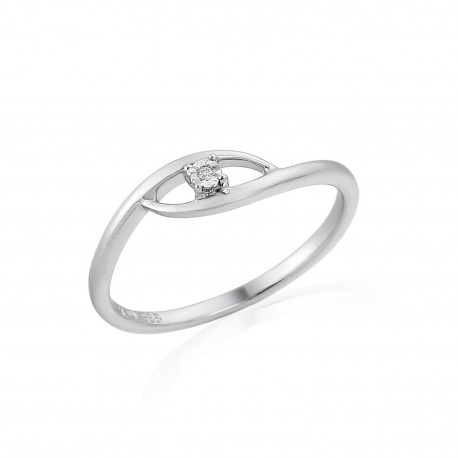 GEMS 386-2371 prsten s briliantem
