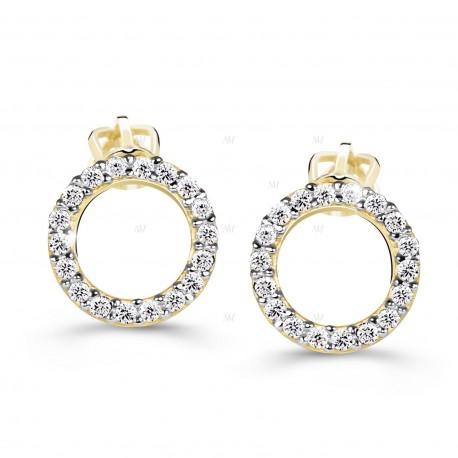 Cutie Jewellery Z60240y náušnice s brilianty