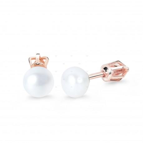 Cutie Jewellery Z8002r náušnice s perlami (skrutka)