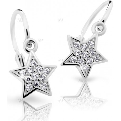 CUTIE ND2228 Kinderohrringe mit Brillanten
